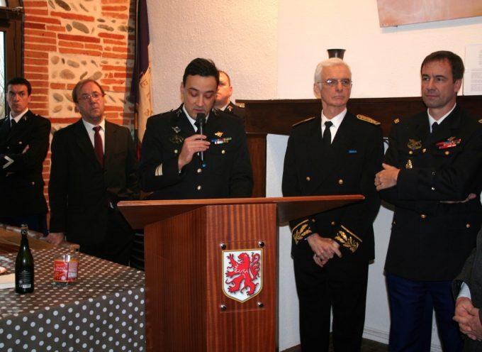 Les gendarmes de la Compagnie de Muret fête leur Sainte Geneviève à Mauzac.