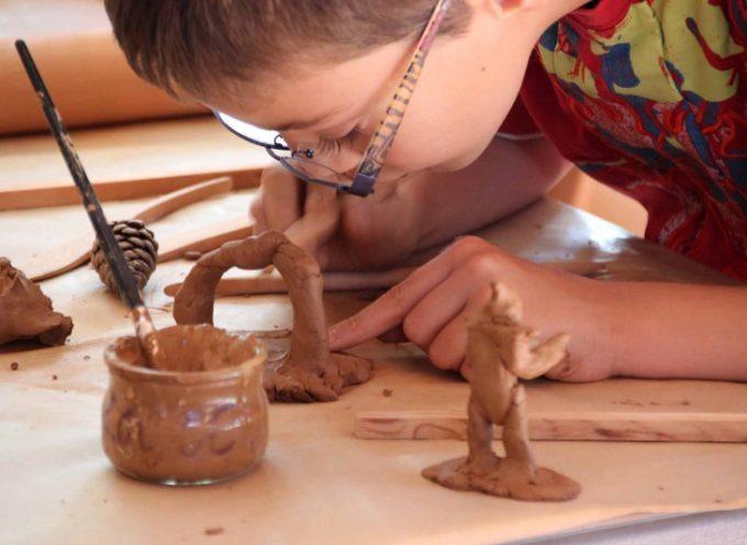 Stage poterie enfants pour les vacances de février 2016