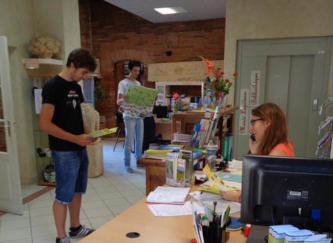 Les nouveaux horaires d'ouverture de l'office de tourisme de Rieux Volvestre