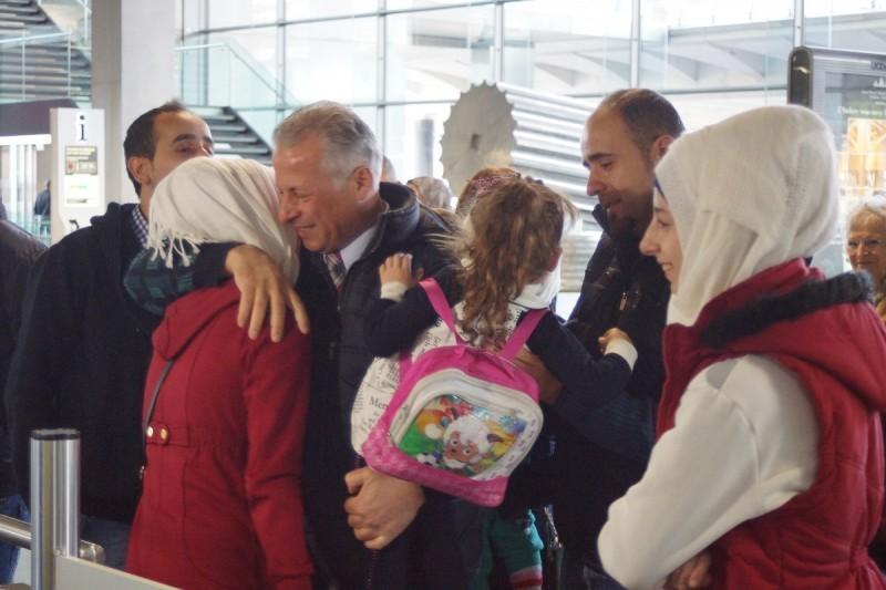 Une joie indescriptible dans le hall de l'aéroport de Toulouse Blagnac. Enfin réunis