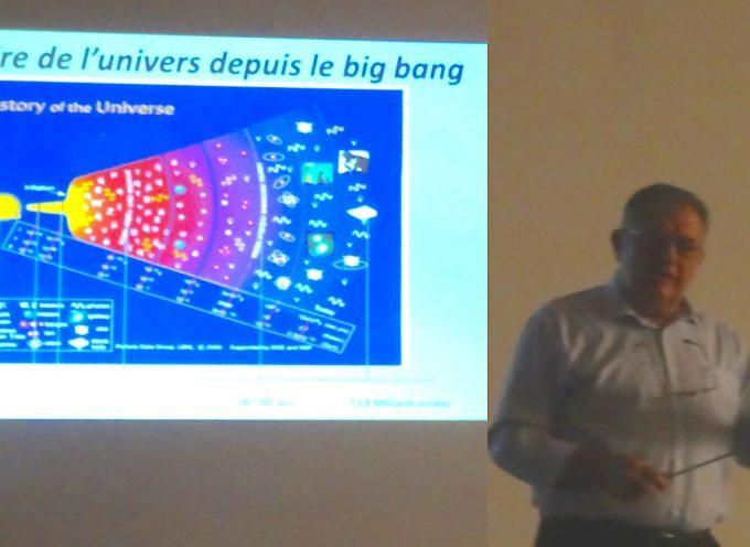 Le boson de Higgs devenu familier aux nombreux auditeurs présents à la conférence de la petite université populaire du Volvestre