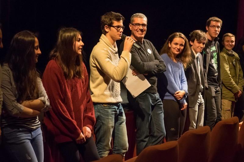 La présentation du jury des jeunes