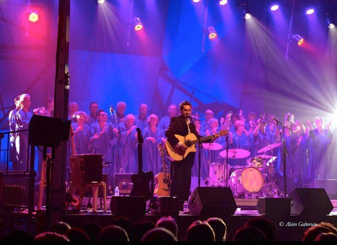 Comming' Gospel en concert à Saint Lary Boujean.