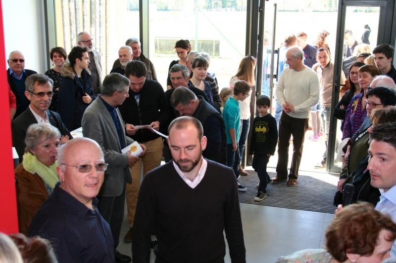 Il y avait foule pour l'inauguration de la nouvelle MSP