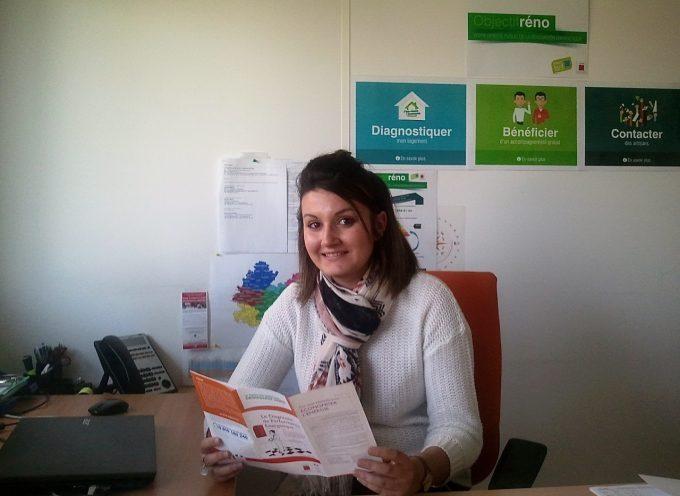 Elise Sieurac, nouvelle ambassadrice de l'efficacité énergétique au Pays sud toulousain.