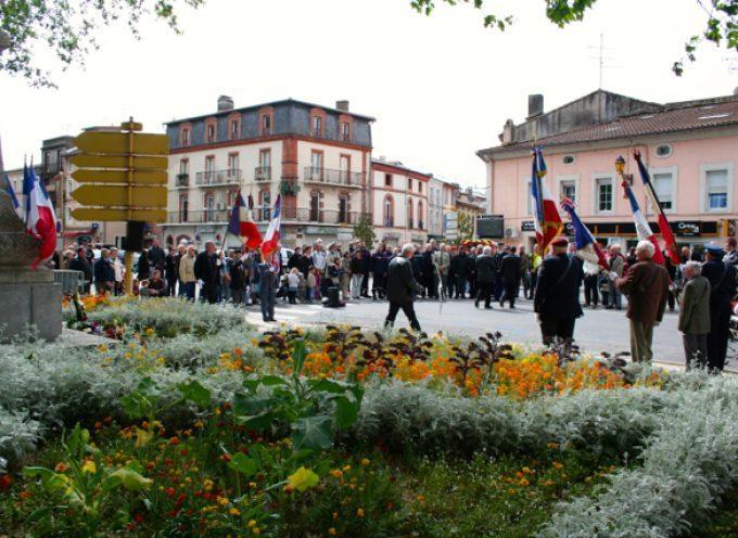 Carbonne : Les cérémonies commémorant l'armistice de 1945