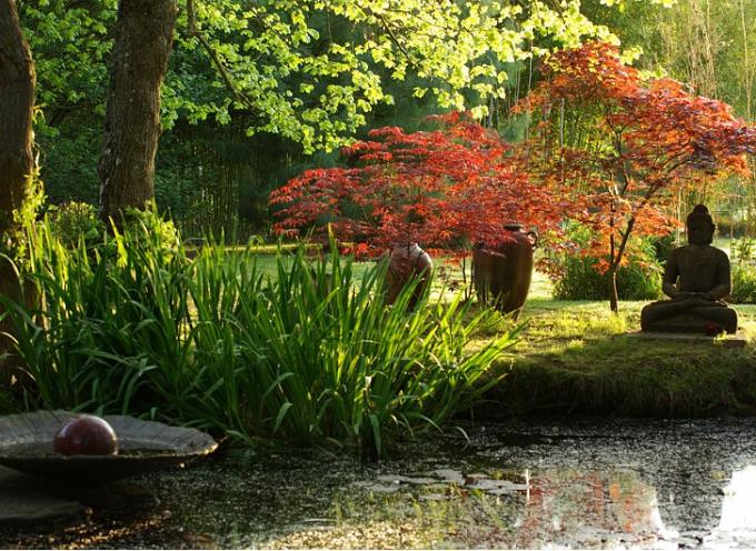 Les jardins remarquables de la poterie d'Hillen.
