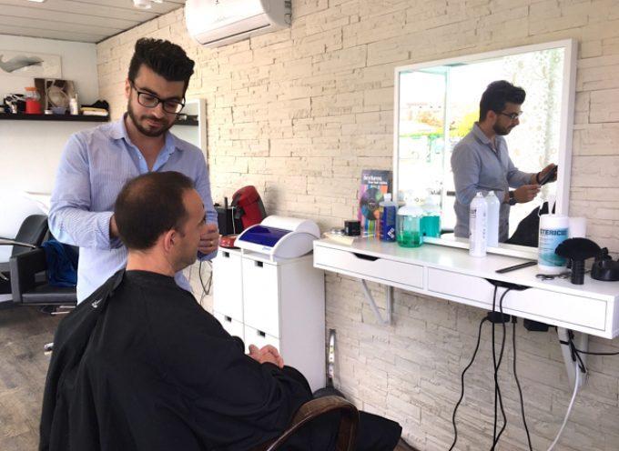 Un salon de coiffure pas comme les autres.