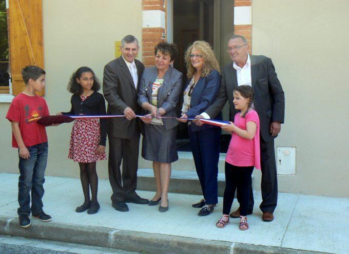 Gensac sur Garonne inaugure sa nouvelle mairie.