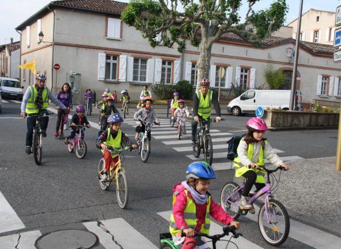 Carbonne : Semaine nationale du vélo.