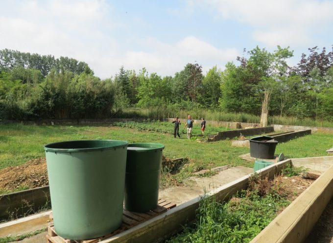 Inauguration du jardin partagé du « SEL » à Carbonne.