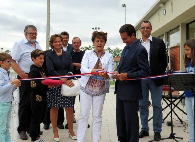 Carbonne : La piscine municipale inaugurée après un an de travaux.