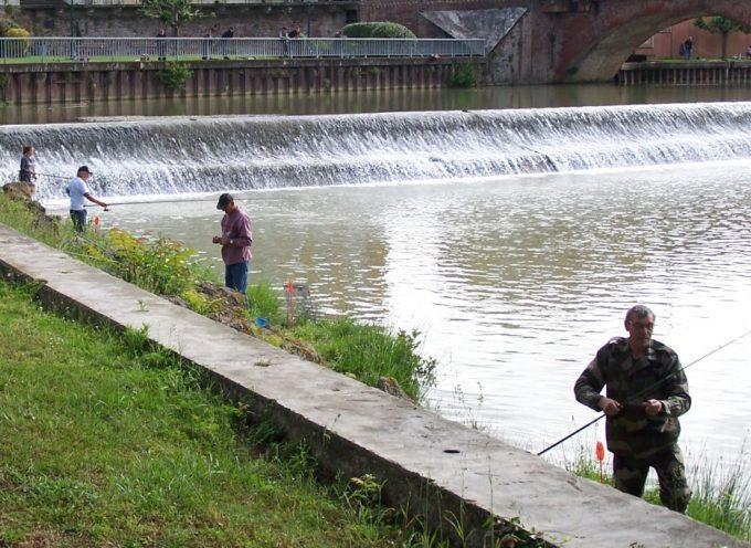 Montesquieu : Concours de pêche lors des fêtes de la Saint-Victor