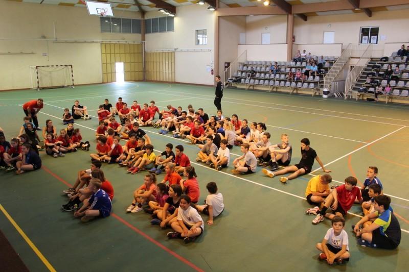 Le Rieux Hand Ball Club termine la saison par son tournoi intra-club.