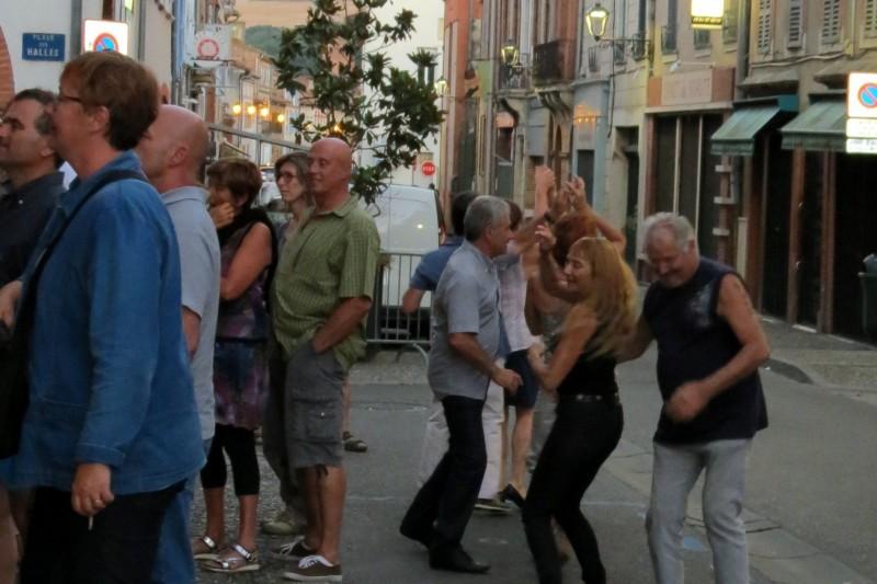 Ils ont dansé dans la rue!