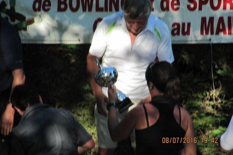 Claude Tajan  Champion de France catégorie vétéran