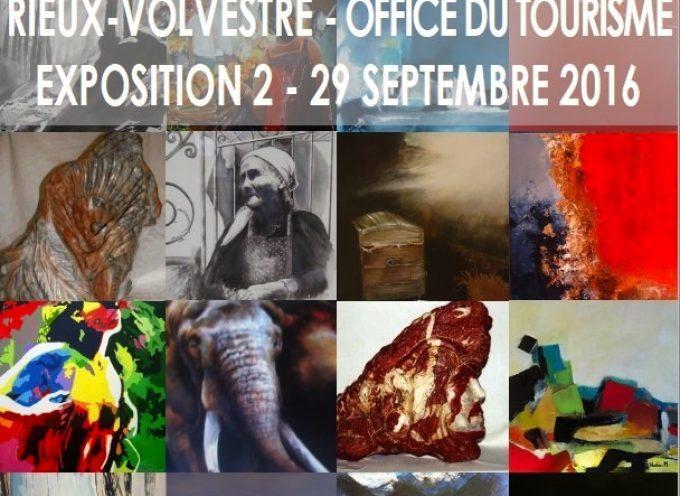 Rieux Volvestre : La Société Artistique choisit la ville-cité pour exposer ses artistes.