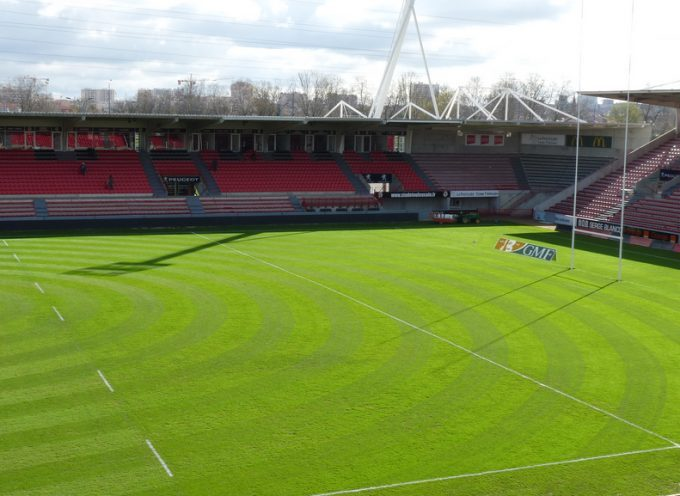Orange déploie les solutions techniques du stade Ernest Wallon (Stade Toulousain), 1er stade de rugby connecté d'Europe.