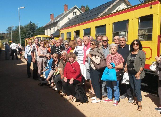 Les « CASSES » en train jaune parcourent la Cerdagne.
