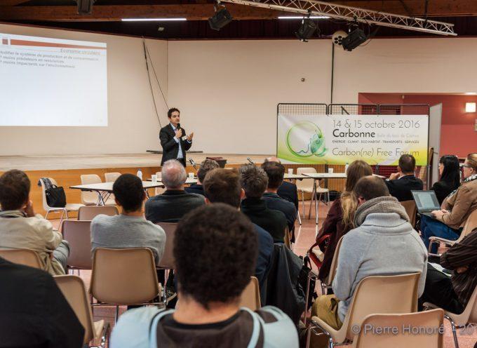 Le Carbon(ne) Free Forum :  un cocktail d'idées et d'énergies vertes concentré et revigorant ! !
