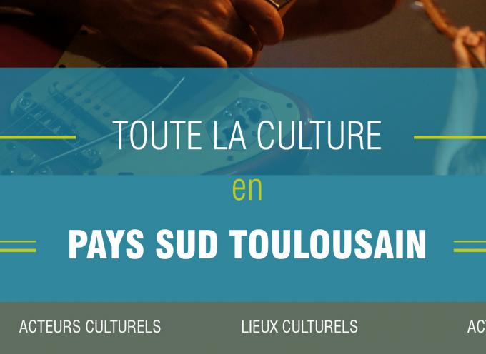 Un agenda culturel numérique pour le Pays du Sud Toulousain.
