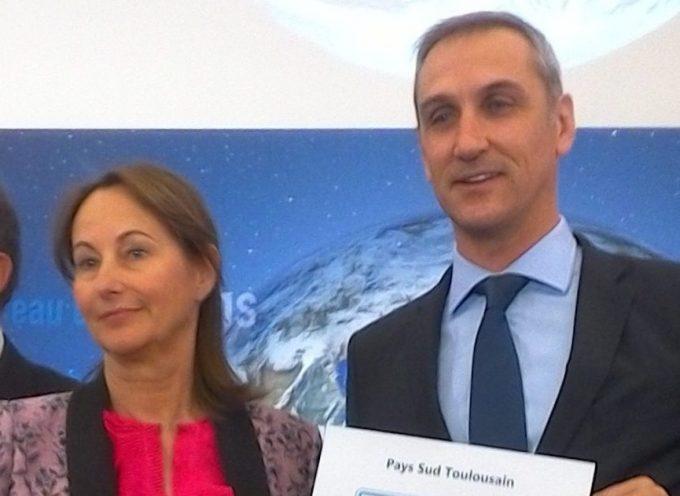 """Label """"Territoire à Energie Positive pour la Croissance Verte"""" pour le Pays du Sud Toulousain."""