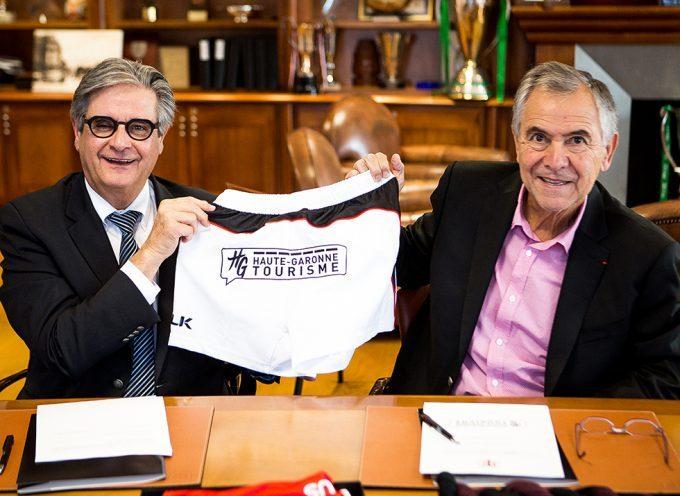 Le Conseil départemental partenaire du Stade Toulousain