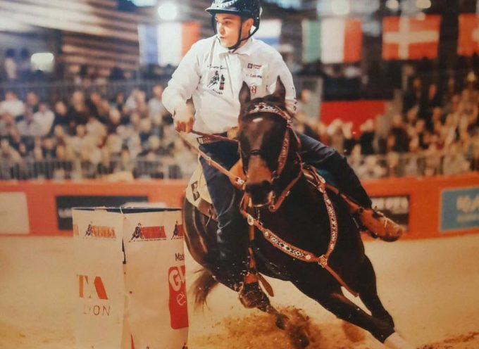 Mathieu Lajous : Du championnat de France au championnat du monde d'équitation monte western.