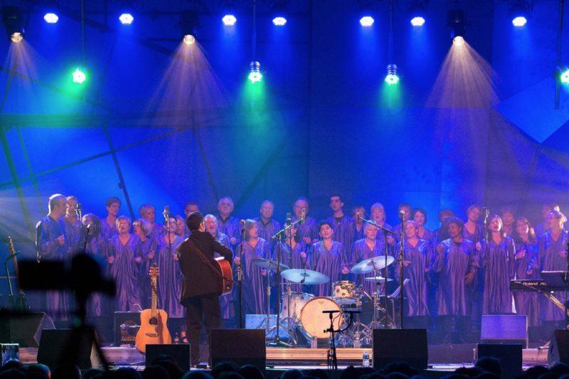 La choral Comming gospel