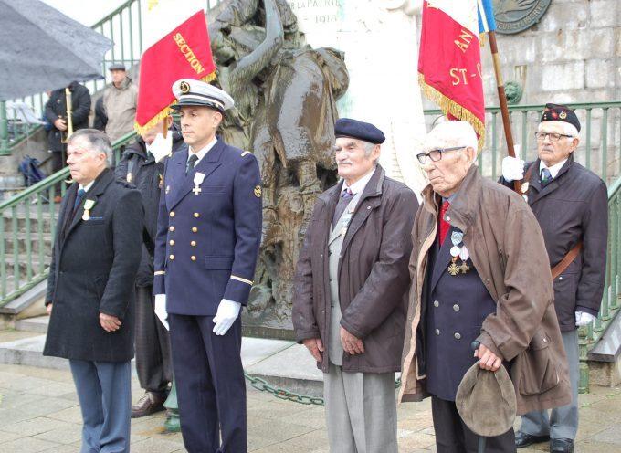 11 novembre à Saint Gaudens : Hommage à tous les morts pour la France.