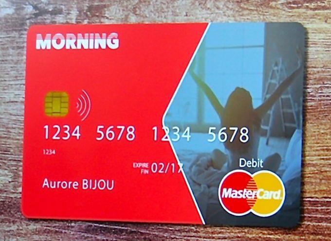 Morning lance une carte Mastercard innovante qui simplifie la gestion financière au quotidien.