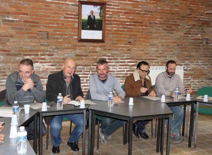 Le comité de jumelage Font Rubi / Rieux Volvestre en réunion avec des projets plein la tête.