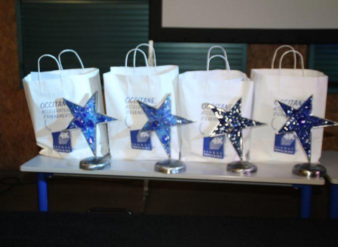 Les trophées des entreprises lors de la soirée « Stars et Métiers 2016 »