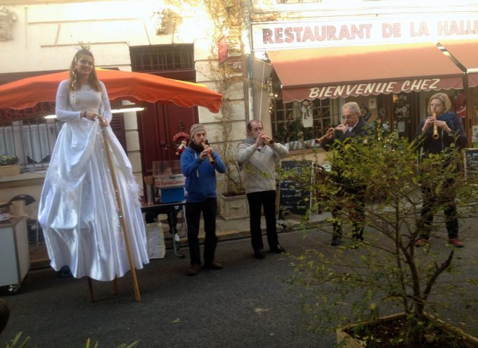 Le marché authentique de Noël à Rieux Volvestre.
