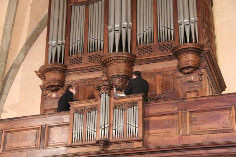 Les magnifiques orgues de Rieux.