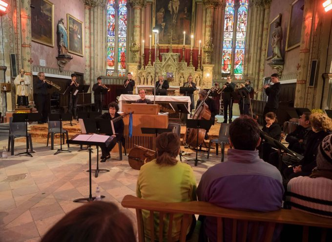 Le Chœur de Chambre et l'orchestre du Conservatoire du Saint-Gaudinois enchante un public conquis.