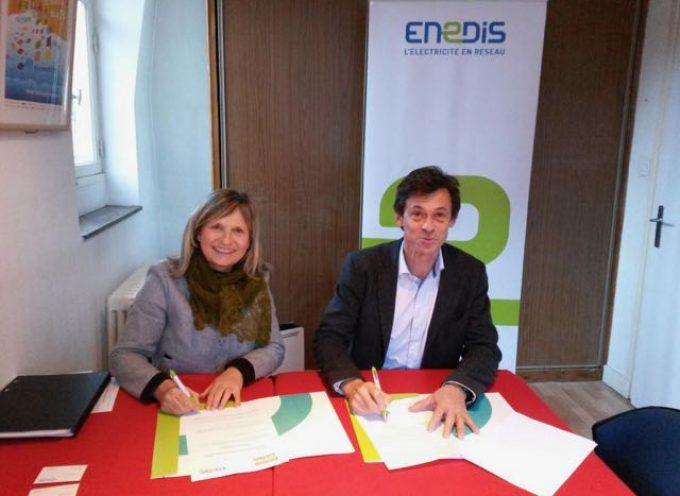 ENEDIS, nouveau partenaire du Festival TV de Luchon