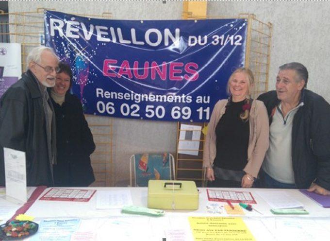 La Soirée de la Saint Sylvestre à Eaunes.