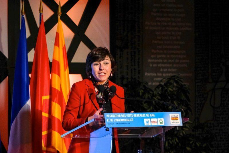 Carole Delga, présidente de région