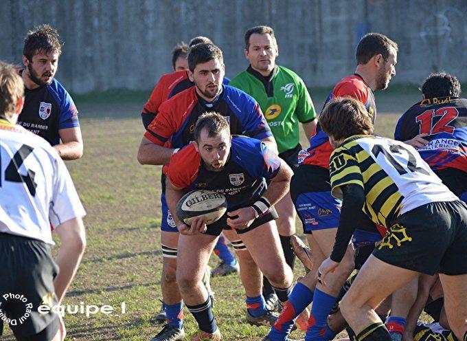Cazères/Le Fousseret : Une victoire précieuse pour l'UCF Rugby XV