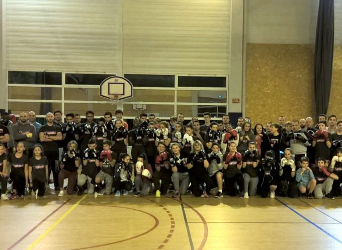 La Savate du  Carbonne Impact Boxing Club.