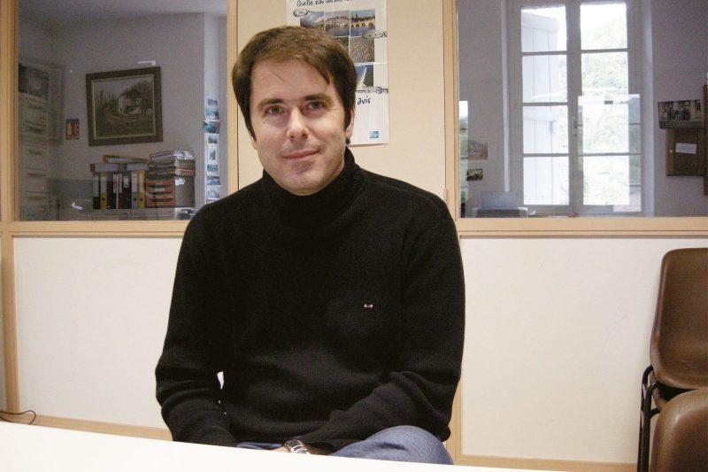 Le nouveau président François Arcangeli, maire d'Arbas
