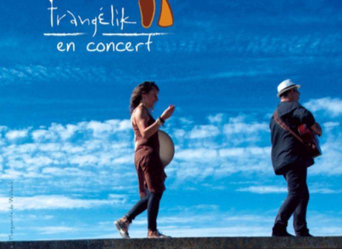 Frangélik en concert à Rieux Volvestre.
