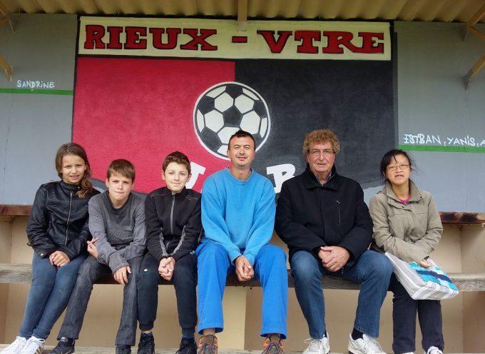 Rieux Volvestre : USR football  et  «l'association Pschutt on peint»!
