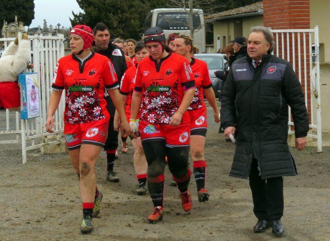 Fémina rugby : Retour à la première place.