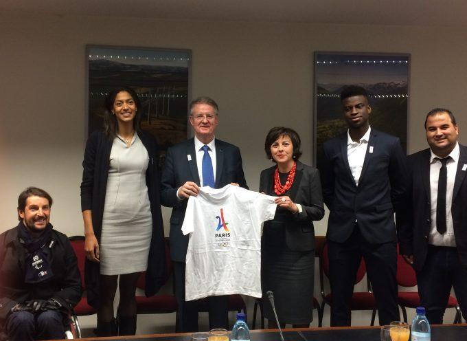 « Notre région a tous les atouts pour accueillir les athlètes et des épreuves des JO de 2024 »