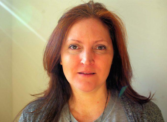 Myriam CRÉDOT, candidate  sur la 7ème.