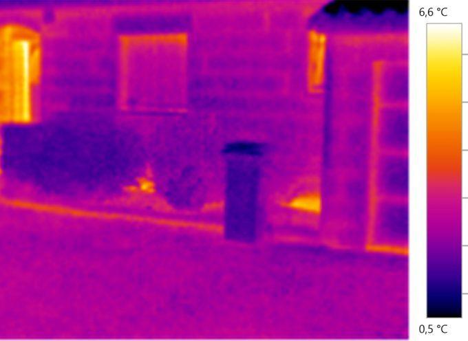 Opération thermographie sur la commune de Noé.