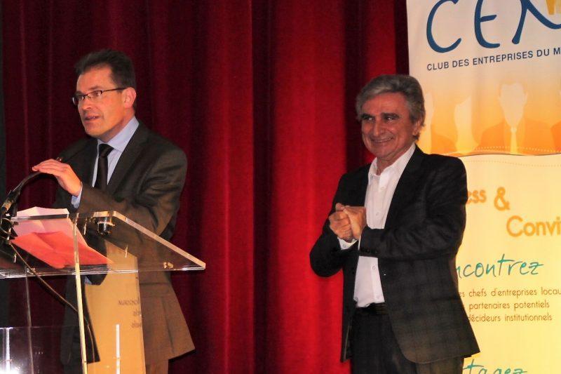 Thierry Suaud accueille le C.E.M.