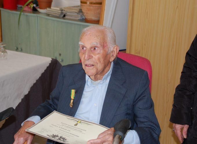 105 ans, un résident honoré à l'Espérance.